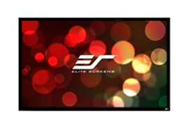 Elite, Screens, ER135WH2, SableFrame, 2, Series, Projector, Screen, 135, Fixed, Frame, 16:9, 6CM, Black, Velvet, Border,