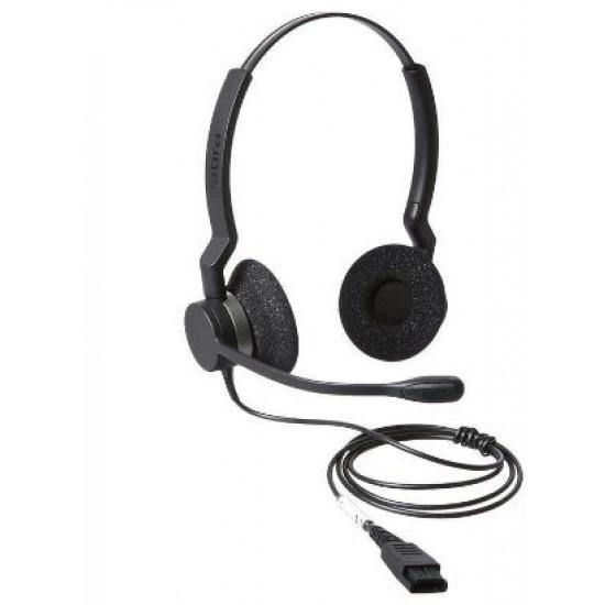 Jabra, (2309-820-105)Jabra, BIZ, 2300, QD, Duo, Noise, Cancelling, Headset,