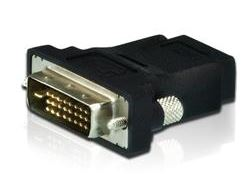 Aten, (2A-127G), DVI-D(M), to, HDMI(F), bi-directional, Adapter,