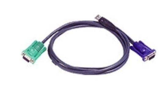Aten, (2L-5202U), USB, KVM, Cable, Length:, 1.8m,