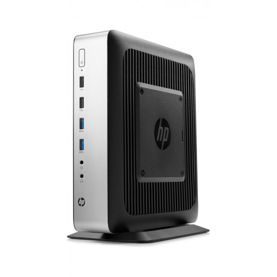 HP, t730, Thin, Client, (4BL60PA), AMD-RX-427BB, Quad-Core, 8GB(2x4GB), 128GB-Flash, KB+MS, WES7E-64b+W10IoT-64b, 3YR, warranty,