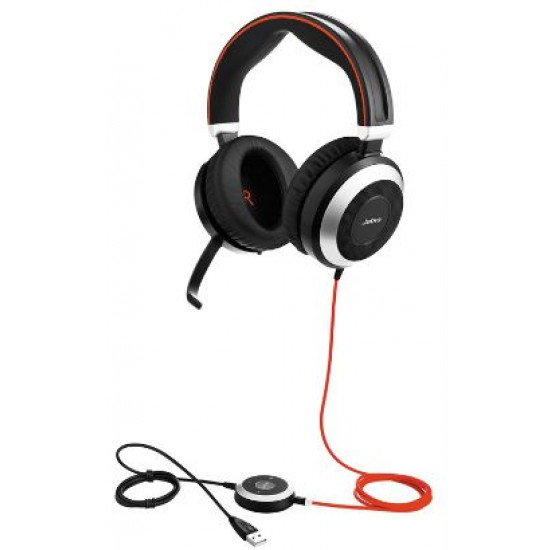 Jabra, (7899-823-109), Evolve, 80, MS, Stereo, Headset,