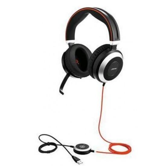Jabra, (7899-829-209), Evolve, 80, UC, Stereo, Headset,