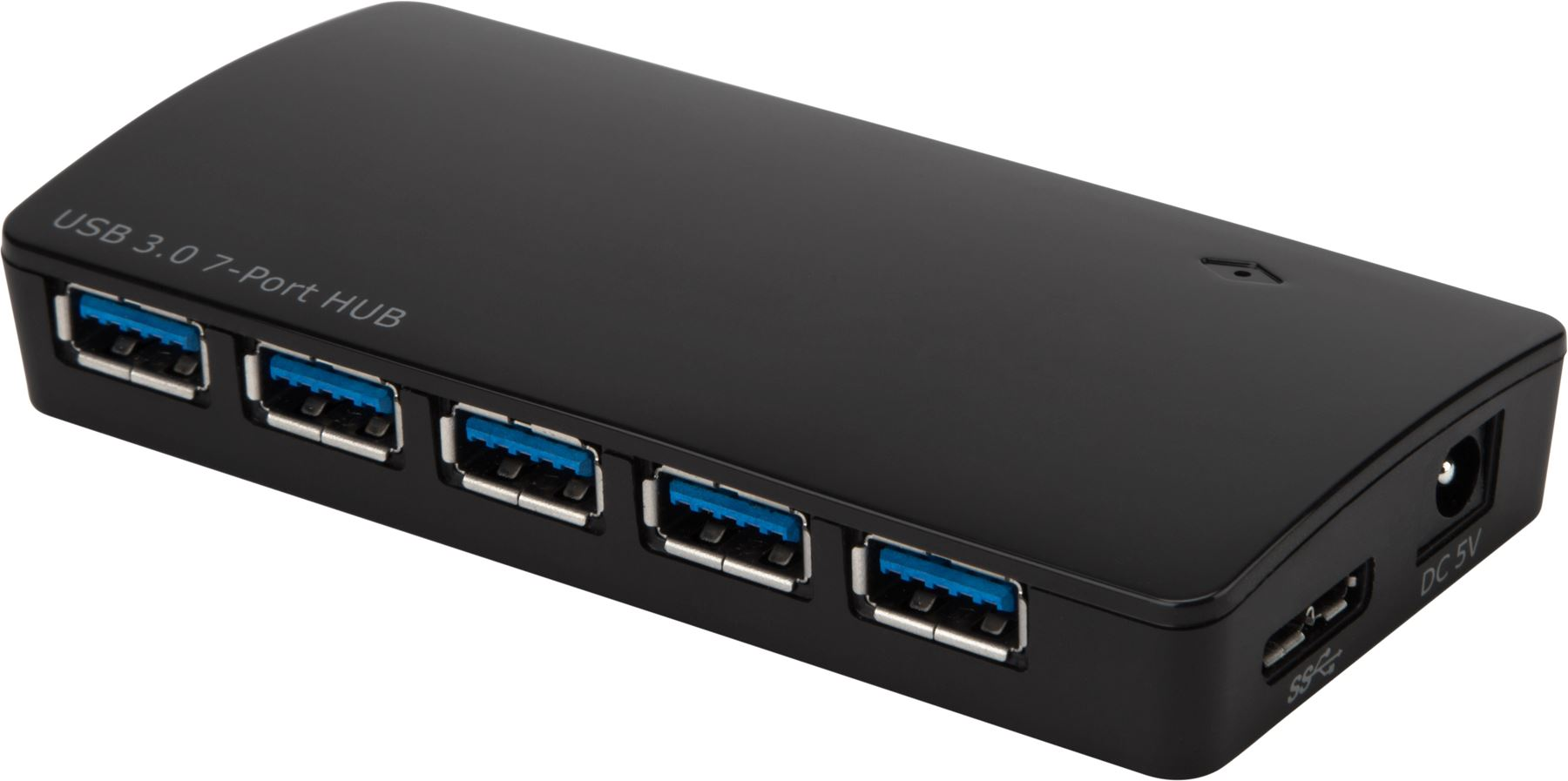 Targus, ACH125AU, 7-Port, USB3.0, Powered, Hub, with, Fast, Charging,