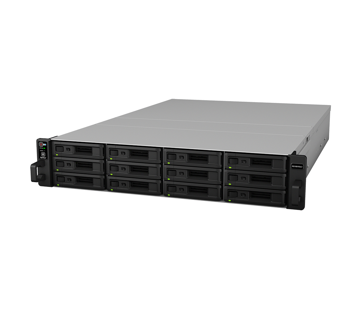Advance, Replacement, for, Synology, RS18016xs+, RackStation, 12-Bay, Scalable, Network, Attached, Storage, (, RAIL, KIT, optional, ), w,