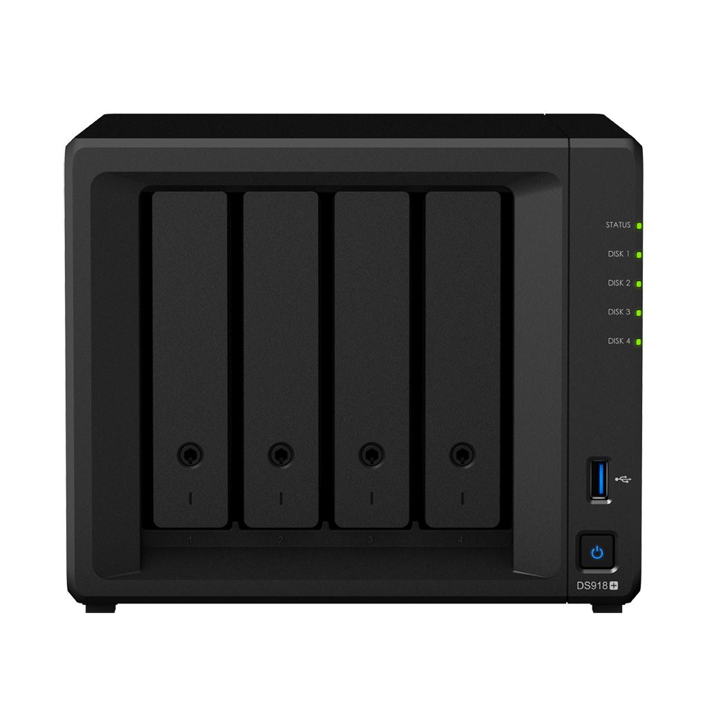 Advanced, Replacement, for, Synology, DS918+, 4GB, DiskStation, 4-Bay, NAS,