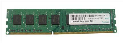 Apacer, DDR3, Unbuffered, ECC, PC10600-4GB, Memory, for, selected, QNAP, TS-ECxx79, SS-ECxx79, and, TS-ECxx80, Upgrade,