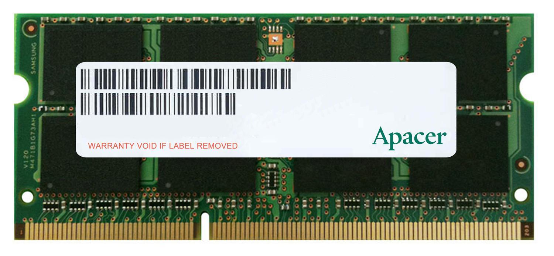 Apacer, DDR3, Unbuffered, PC12800-8GB, Memory, for, selected, QNAP, TVS-1271U-RP, TVS-871U-RP, TVS-EC880-E3, Upgrade,