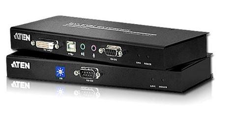 Aten, (CE602-AT-U), DVI, Dual, Link, KVM, Extender,