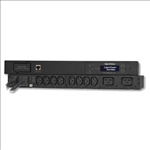 CyberPower, 1U, 10amp, Metered, Automatic, Transfer, Switch-(PDU15MHVIEC12AT), ÔÇô, 12x, IEC, C13, out, ÔÇô, IEC, 320, C14*2, in, -, 2, Yea,