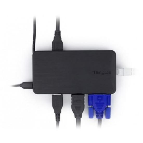 Targus, DOCK110AU, USB3.0, Dual, Video, Travel, Dock,