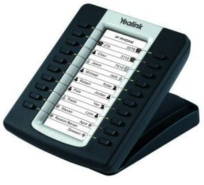 Yealink, EXP20, -, Yealink, expansion, board, for, SIP-T27P/SIP-29G, LCD, screen, 20, Dual, LED, s., Supports, up, to, 6, units,