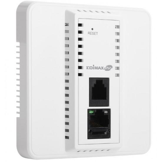 Edimax, Pro, (IAP1200), Wireless, AC1200, Dual-Band, Wall-Plate, PoE, Access, Point,