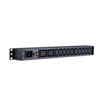 CyberPower-1U, Basic, PDU, (PDU20BHVIEC12Ra), 16Amp, input/output, -, 12x, IEC-320, (2-C19, &, 10-C13), out, -, IEC, 320, C20, in, -, 2, Yea,