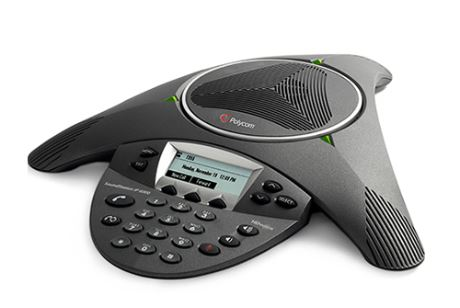 Polycom, IP6000, -, Conference, Phone, with, PSU,