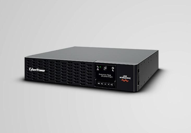 CyberPower, PRO, Rack/Tower, LCD, 2000VA/2000W, (10A), 2U, Line, Interactive, UPS, -, XL, Battery, Exp, -, (PR2000ERTXL2U), -, 3yrs, Adv,