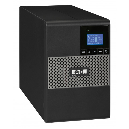 Eaton, 5P, 650VA, /, 420W, Tower, UPS, with, LCD,