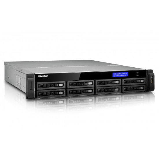 QNAP, VS-8148U-RP, Pro+, -, 8, Drive, 48Ch, Rack, NVR, local, VGA, RAID, 0/1/5/5+/6, 4x, GbE, max, 400Mbps, redund, Power, Supply, 2,