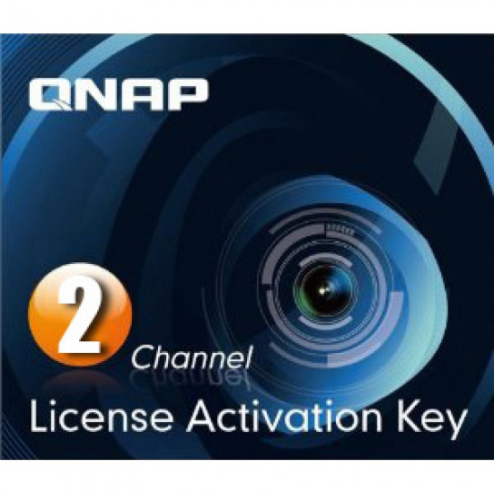 QNAP, -, 2, license, activation, keys, for, Surveillance, Station,