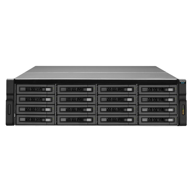 QNAP, REXP-1610U-RP, 16-Bay, SAS, 6G, Expension, Unit, for, Enterprise, Models, SATA, 6G, drive, supported, Without, Rail, Kit, 3, yr, w,