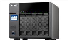 QNAP, TS-431X2-2G, 4-Bay, NAS, Annapurna, Labs, AL314, Quad, core, 1.7GHz, 2GB, DDR3, SODIMM, RAM, (max, 8GB), SATA, 6Gb/s, 1x, 10GbE,