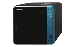 QNAP, TS-453Be-2G, 4-Bay, NAS, Intel, Celeron, Apollo, Lake, J3455, quad-core, 1.5GHz, (up, to, 2.3GHz), 2GB, DDR3L, SODIMM, RAM, (, 2x1G,