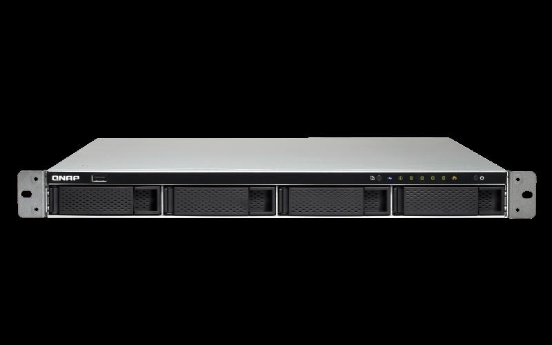 QNAP, TS-463XU-4G, 4-Bay, TurboNAS, AMD, Quad-Core, 2.0GHz, 4GB, DDR3L, RAM, (max, 16GB), 1, x, 10GbE, 10GBASE-T, (pre-installed, PCI,