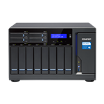 QNAP, TVS-1282T3-i5-16G, 12-Bay, TurboNAS, SATA, 6G, Core™, i5-7500, 3.4, GHz, 16GB, RAM, 4-LAN, 2x, 10Gbase-T, 4x, Thunde,