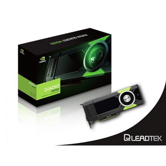 Leadtek, Quadro, M5000, PCI-Ex16, 8GB, DDR5, DPx4, DVI-I, DLx1, SLi, Support, Quadro, Sync, OEM, Pack, *clearance*, Last, Unit*,