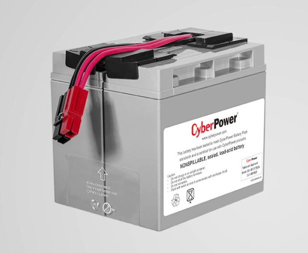 CYBERPOWER, RBP0023, Battery, Replacement, Cartridge, for, PR1500ELCD,
