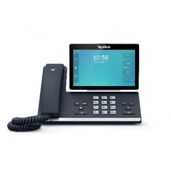 Yealink, SIP-T58A, -, 16, Line, IP, HD, Android, Phone, 7, 1024, x, 600, colour, touch, screen, HD, voice, Dual, Gig, Ports, Built, in, Bl,