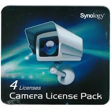 Synology, Camera, License, (4, Surveillance, Cameras),