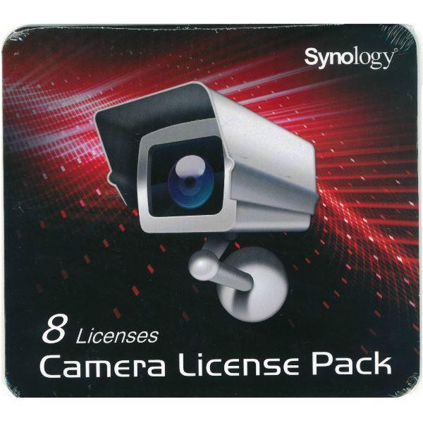 Synology, Camera, License, (8, Surveillance, Cameras),