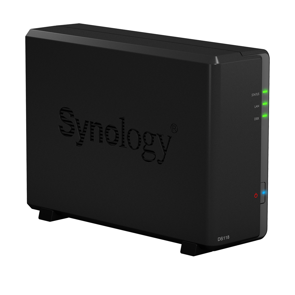 Synology, DS118, Diskstation, 1-Bay, NAS,