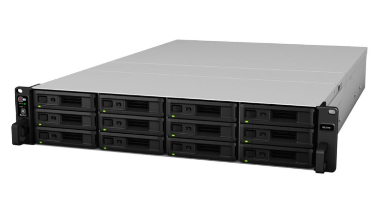 Synology, RS2418+, RackStation, 12-Bay, Scalable, NAS, (, RAIL, KIT, optional, ),