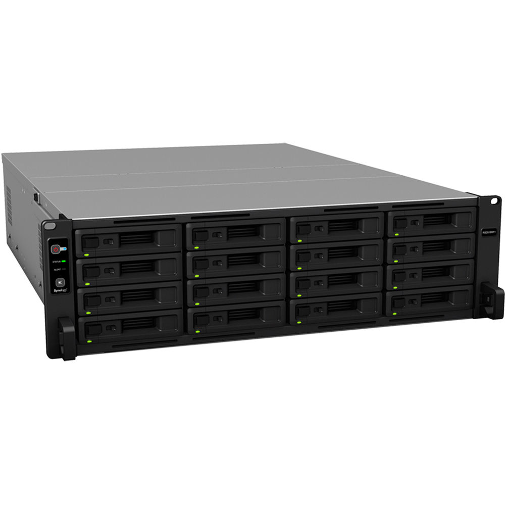 Synology, RS2818RP+, RackStation, 16-Bay, Scalable, NAS, (, RAIL, KIT, optional, ),
