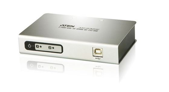 Aten, (UC2322-AT), 2, PORT, USB, TO, RS232, CONVERTER, W/1.8M,