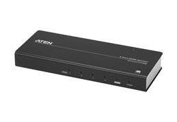 Aten, (VS184B-AT-U)4, Port, True, 4K, Splitter., HDMI, 2.0, HDCP, 2.2., Support, HDR., Up, to, 4096, x, 2160, /, 3840, x, 2160, @, 60Hz, (4:4:,