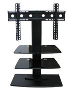 SG, Stand, Mount, Aluminium, Glass, 23-42inch, with, shelves,