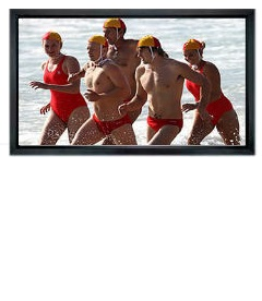 SG, Wide, Format, Framed, Wall, Mount, Screen, 90, (2m, *, 1.13m),