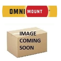OMNIMOUNT, PROJECTOR, CEILING, MOUNT, -, 18KG, MAX, BLACK, 30, PITCH, 30, ROLL, (18.1KG),