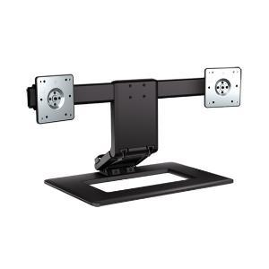 Hewlett-Packard, Adjustable, Dual, Display, Stand,