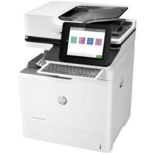 HP, Colour, A4, Laserjet, Enterprise, 60ppm, M681f, MFP, Printer,