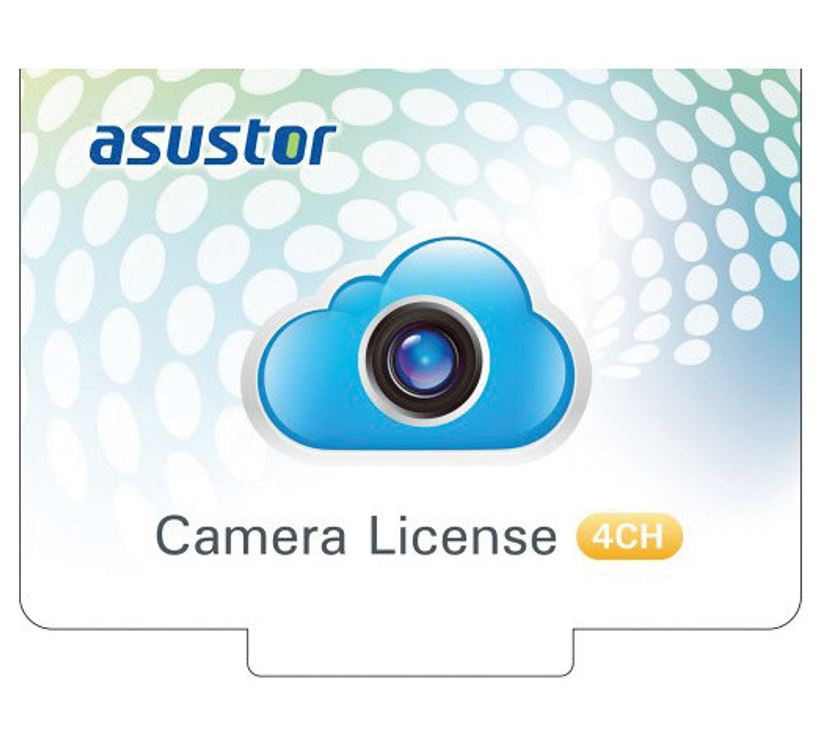 Asustor, NVR, 4CH, Camera, License, Package-Virtual, Item,