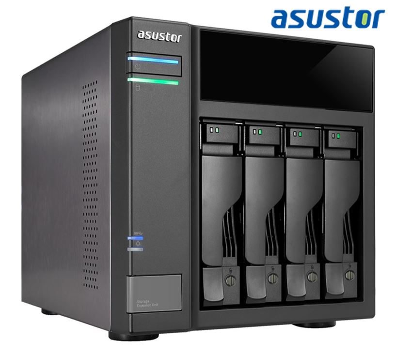 Asustor, 4-bay, expansion, box, supporst, USB3.0, power, sync, mechanism,