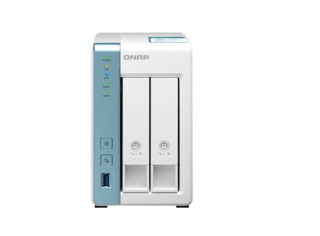 QNAP, TS-231K, 2-Bay, TurboNAS, Alpine, AL-214, ARM, v7, Quad-core, 1.7Ghz, CPU, 1GB, RAM, SATA, 6Gb/s, 2x, GbE, LAN, 3, x, USB3.0, HD,