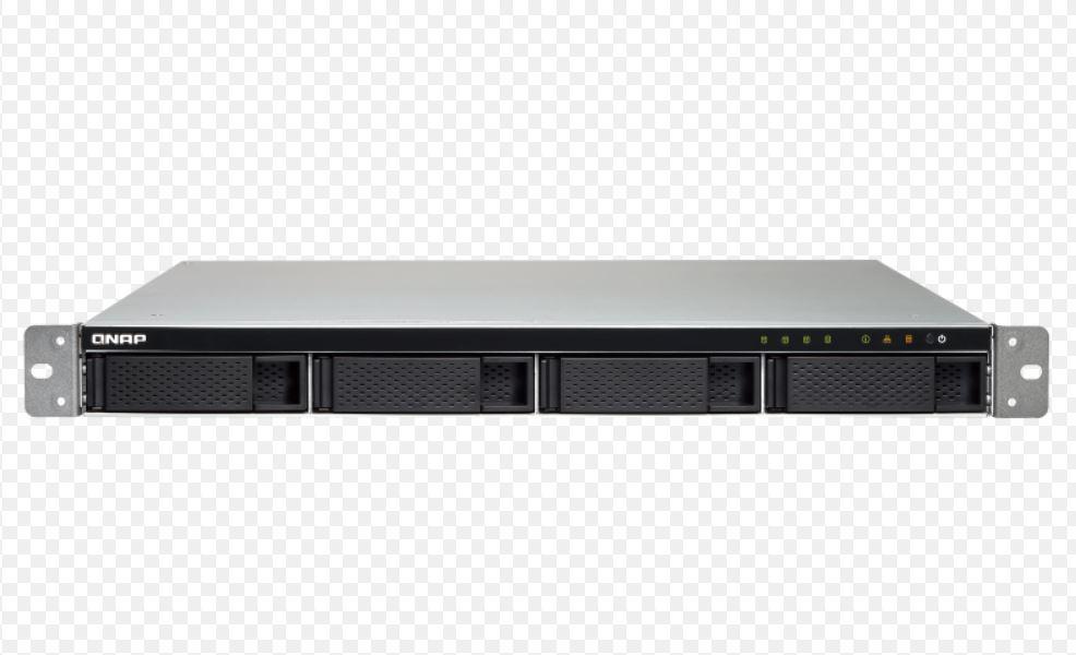 QNAP, TS-432XU-2G, 4-Bay, quad-core, 1.7, GHz, rackmount, NAS, with, 250W, PSU, 2GB, DDR4, UDIMM, RAM, (max, 16GB), SATA, 6Gb/s, 2x, 10G,