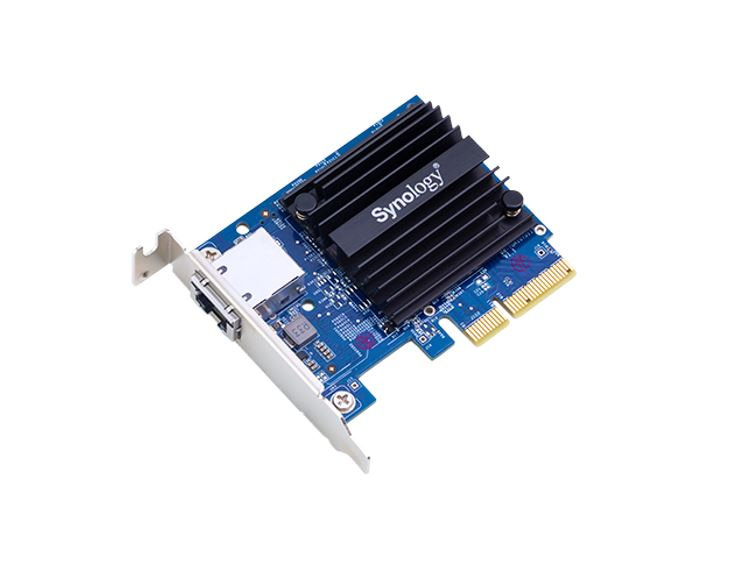 Synology, E10G18-T1, 10Gbe, single, Ethernet, Adapter, Card, for, RS3614xs+, RS3614, (RP)xs, RS10613xs+, RS3413xs+,