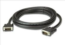 Aten, 10m, DVI, Dual, Link, Cable, supports, up, to, 2560, x, 1600, @, 60Hz, Advanced, tinned, copper, architecture,