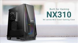 Antec, NX310, ATX, mATX, ITX, ARGB, Control, USB, 2.0, x, 2, USB, 3.0, x, 1., Tempered, Glass, Side, Panel., 3.5, x, 2, 2.5, x, 4., 2, Yea,